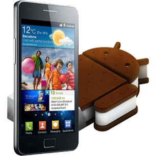 Galaxy SII Android 4.0