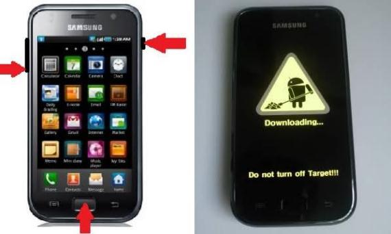 samsung galaxy s actualizar a firmware jvu 2.3.6 1 Samsung Galaxy S, actualizar mediante odin a firmware 2.3.6 y su CF Root